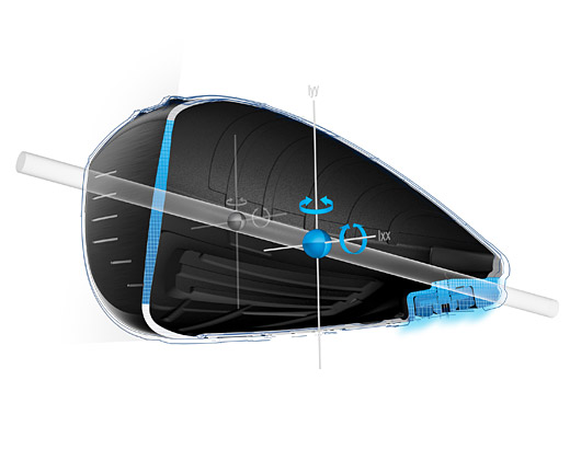ピン G LS TEC ドライバーの超深低重心設計